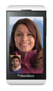 BB video calling